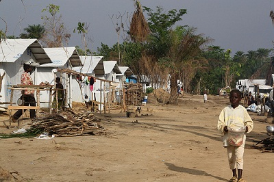 Bahn Refugee Camp DFID